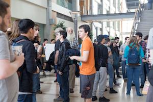 Beaver BarCamp 17 Main Lobby